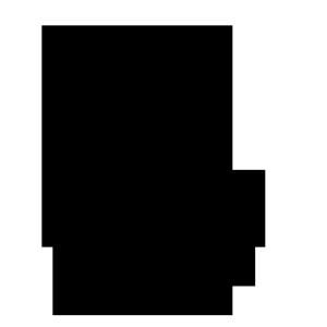 年賀状文字素材 馬07
